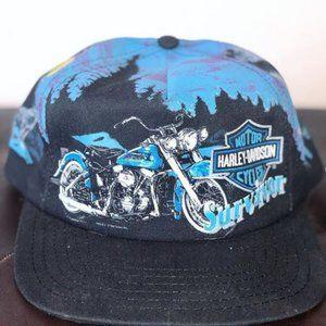 Harley Davidson Vintage Snapback Hat